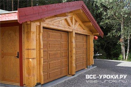 Строительство гаража по каркасной технологии