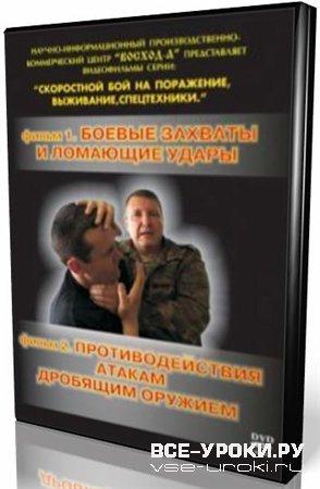 Боевые захваты и ломающие удары (2002) DVDRip