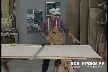 Постройка лодки из дерева / Wooden Boatbuilding with Sam Devlin DVDRip