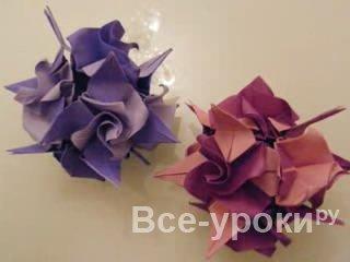 Скачать модульное оригами сосульки для детей - 51