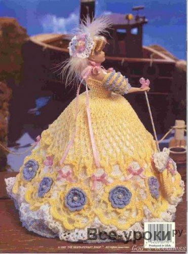 Изысканные платья для куклы барби