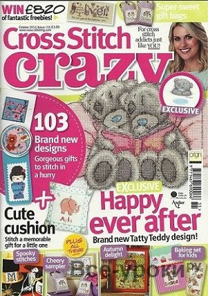 Cross Stitch Crazy №155 2011