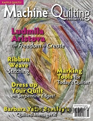 Machine Quilting Unlimited Vol.XIV №1 2014